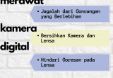 tips merawat kamera digital